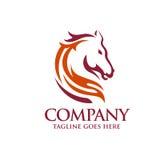 Head Horse symbol Stock Photography