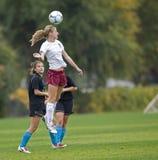 head hs-fotboll för boll Arkivfoton