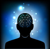 Head of the human mind Royalty Free Stock Photo
