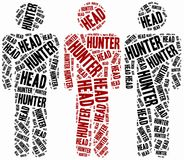 Head hunter or human resources concept. Stock Photo
