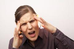 Head Hurts Stock Photography