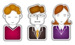 Head icon Stock Images