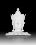 Head of image of buddha Stock Photo