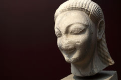 Head of kouros Stock Image
