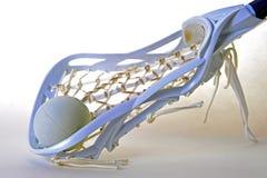 head lacrosse för flickor Royaltyfri Bild