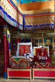 Head of Lamayuru Monastery Stock Photo