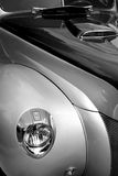 Head lamp of a classic car Royalty Free Stock Images