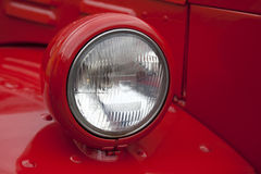 Free Head Lamp Of Fire Truck Stock Images - 21558644