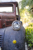 Head lamp of old acr Stock Photo