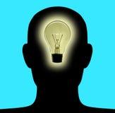 head lampa 2 Fotografering för Bildbyråer
