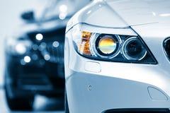 head lampa för bil Arkivbilder