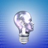 Head Light Bulb Stock Image