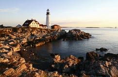 Head Light Lighthouse Stock Photo