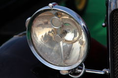 Head Light of Vintage Car Stock Photography