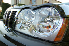 Head lights Stock Image