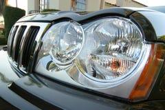 Head lights. Modern head lights stock image