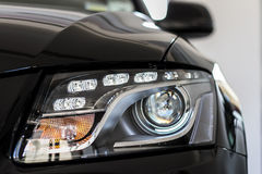Head lights Royalty Free Stock Photo