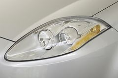 Head lights of a car Royalty Free Stock Photography