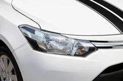 Head lights of a car Stock Photo