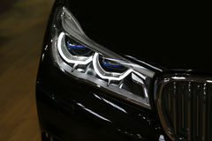 Head lights of a car Royalty Free Stock Photos