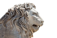 Head of a Lion sculpture Royalty Free Stock Images