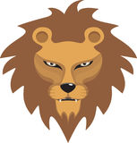 head lionvektor arkivfoto