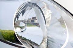 Head ljus av en bil Arkivbilder