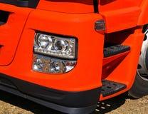 Head ljus av en lastbil Royaltyfria Foton