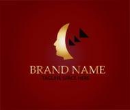 Head logo design Stock Photos
