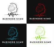 Head Logo Stock Image