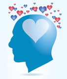 Head Love Royalty Free Stock Photography