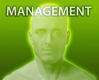 Head for management Royalty Free Stock Photography