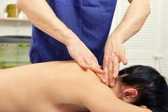 Head massage Stock Image