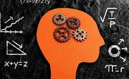 Head matematik för kugghjul Arkivfoto