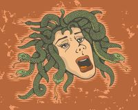 Head of Medusa Stock Images