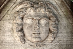 Head of medusa Royalty Free Stock Images