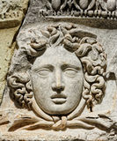 Head of Meduse Royalty Free Stock Photography