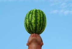 head melonvatten Arkivbilder