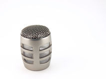 Head of microphone Royalty Free Stock Images