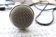 Head mikrofon Royaltyfria Foton