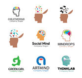 Head Mind Human Design Royalty Free Stock Photos