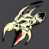 head monster Royaltyfria Bilder