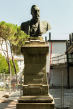 Head monument i sten Arkivbilder