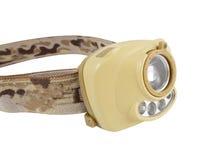 Head-mounted flashlight Royalty Free Stock Photos
