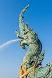 Head of Naga statues Stock Image