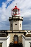 Head of old lighthouse royalty free stock photos