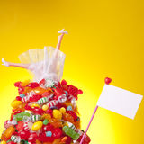 Head Over Heal in Candy and Love Stock Images