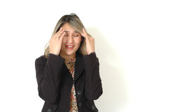Head Pain Stock Photography