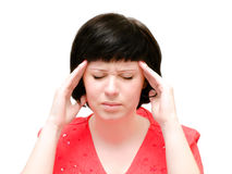 Head pain Royalty Free Stock Image