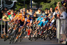 Head of the Peloton - Tour Down Under Stock Photo